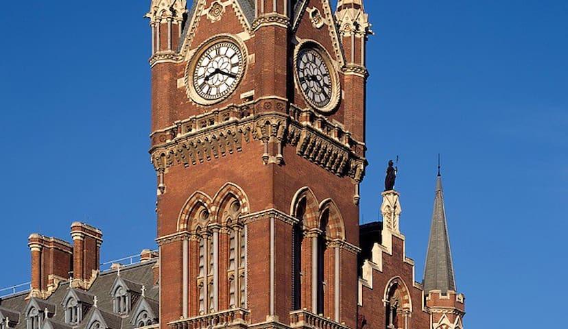 St Pancras Clock Tower Master Suite - London - Leilighet