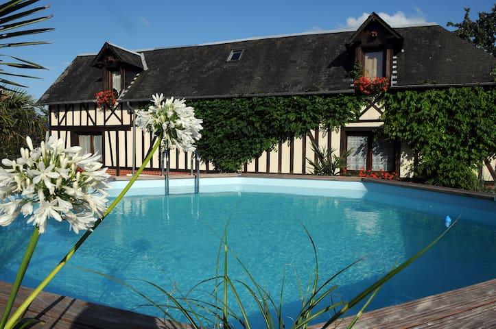 """""""Alapalmeraie"""" Charming property - Épreville-en-Lieuvin - Hus"""