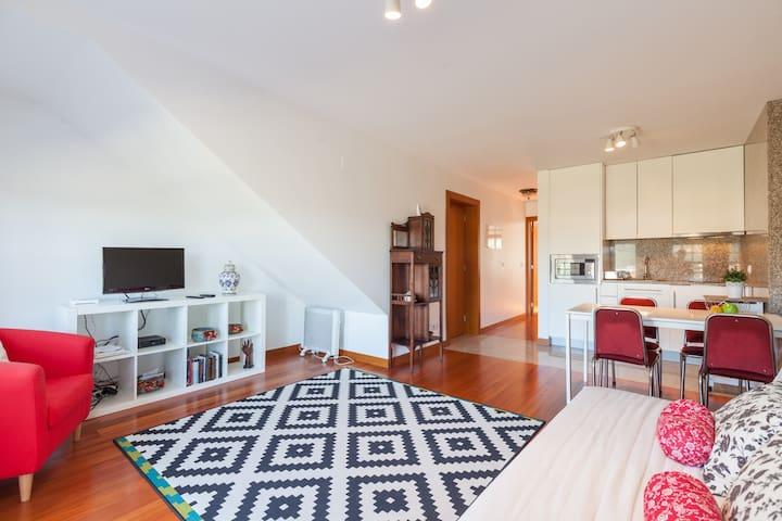 Charming Apartment in Valença 02 - Valença - Lägenhet