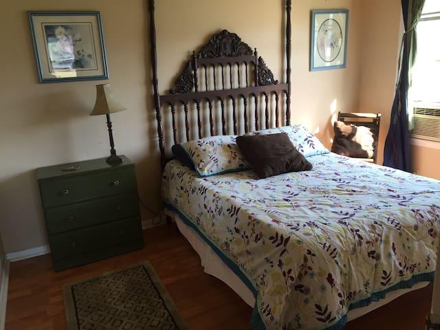 Bright, Cozy Blue Room - Rockdale - Casa