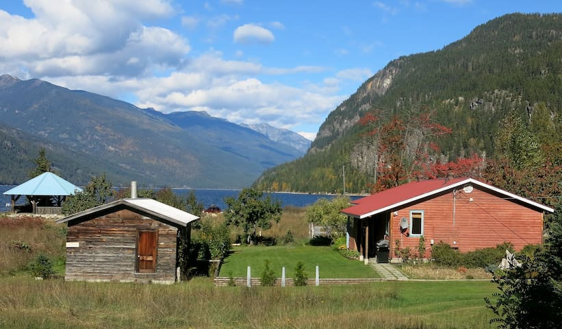 Driftwood Vacation Rental Home - Slocan - Casa