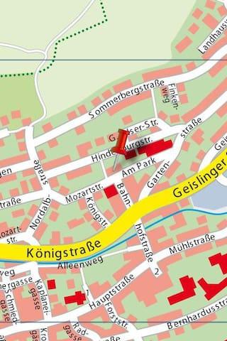 ruhige 100 qm Wohnung in Filstal  Stuttgart - Ulm - Deggingen - Apartemen