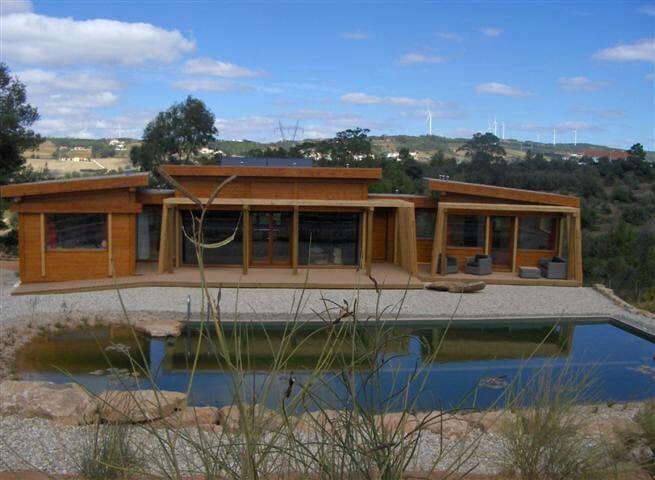 Your Ecohouse & Biopool near Lisbon - Almagra, Carvoeira, Torres Vedras - Casa