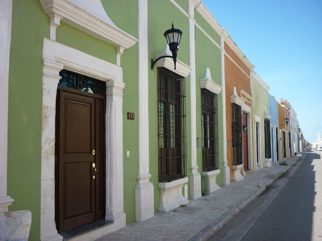 Casa Baranda - Campeche - Huis