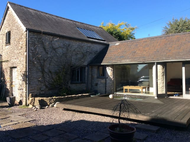 Cosy barn conversion near coast - Colwinston