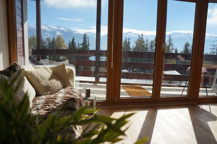 Anzere, Swiss Alps nr Crans-Montana - Ayent - Appartement