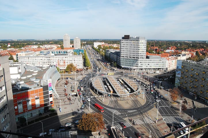100m2 penthouse on top of the city! - Wroclaw