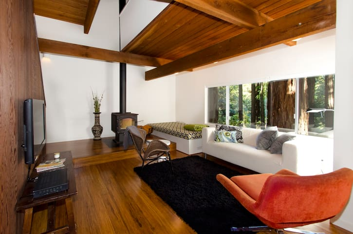 Architect cabin in the Redwoods - Cazadero - Hytte