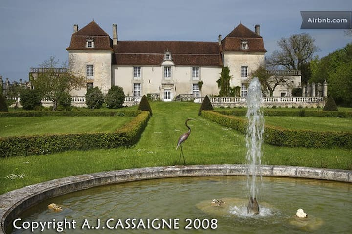 A beautiful castle in the Perigord  - Champagne-et-Fontaine - Bed & Breakfast