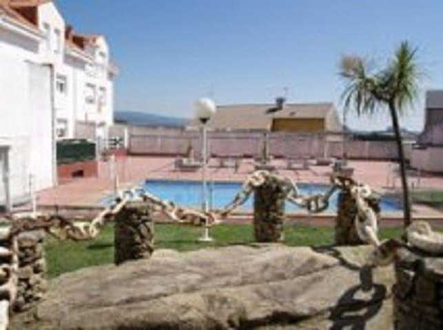 duplex con piscina, jardin cambados - Cambados - Appartement