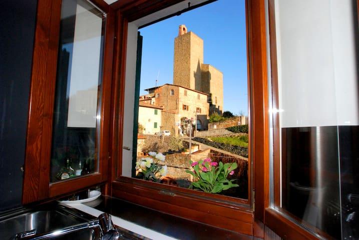 Panoramic loft in Vinci town - Spicchio-Sovigliana - Leilighet