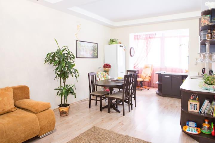 2 room apartment in Kiev  for rent - Sofiivs'ka Borshchahivka - Lägenhet