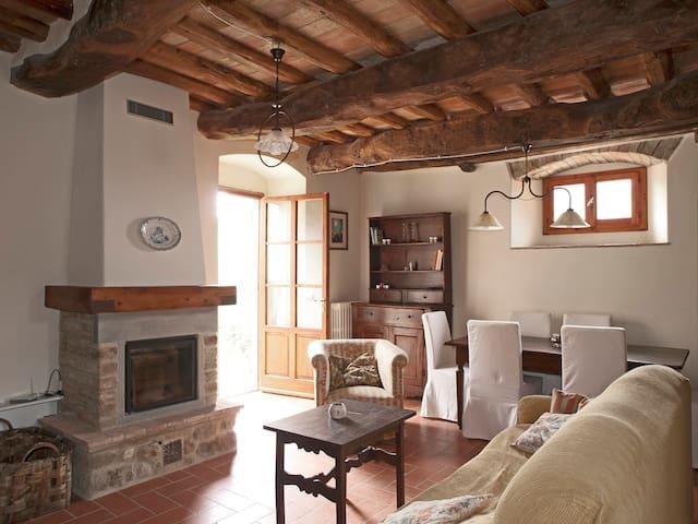 Chianti apartment with jacuzzi - San Casciano in Val di Pesa - Hus
