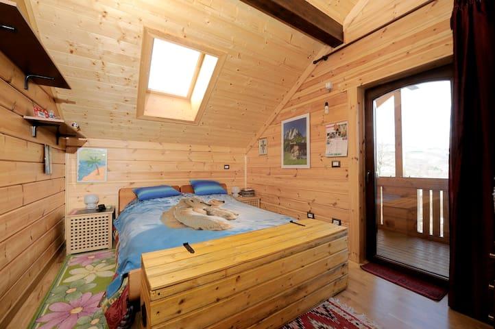 Baita in legno su colline bolognesi - San Benedetto Val di Sambro - Apartament