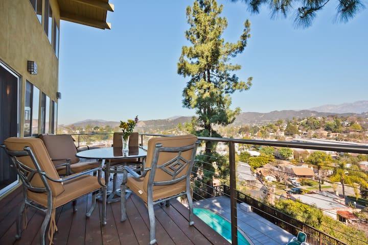 Beautiful Eagle Rock Views! - Los Angeles - Huis