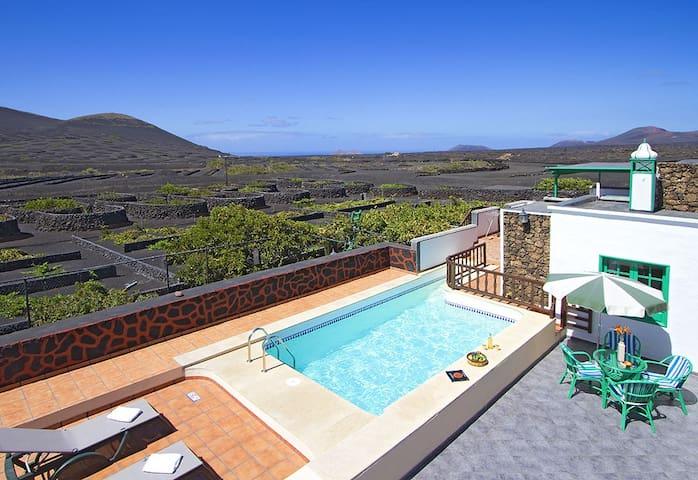 Casa Diama 2, para 2 con piscina - Yaiza - Hus