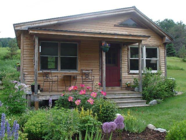 Vermont Guest Cottage - moretown - Houten huisje