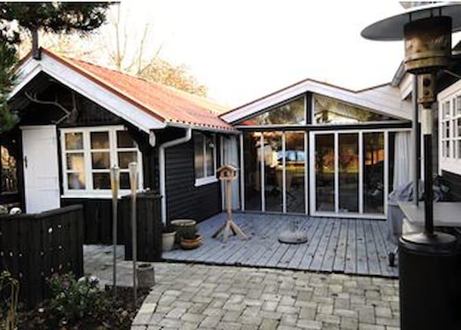 Dejligt Sommerhus. Mini Ferie, Uge Ferie, 11 pers - Fyn - Cabaña