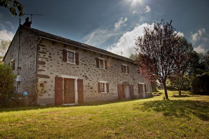 Big house in the countryside Garden - Villedieu - Дом