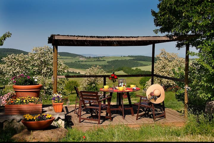 Romantic apartment in a quite place - Montepulciano - Huoneisto