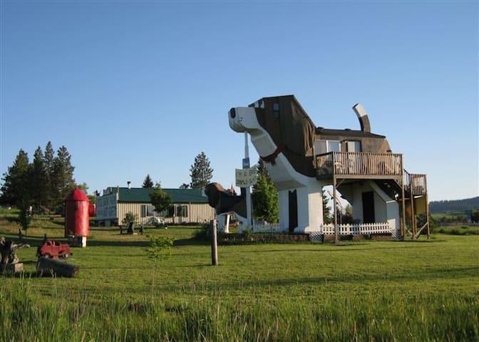Dog Bark Park Inn B&B - Cottonwood