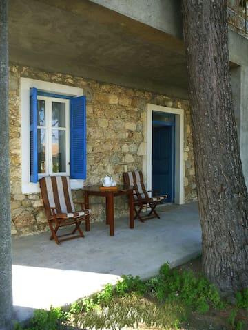 House on Peloponnesian sea (WI-FI)  - Stomio - Apartament