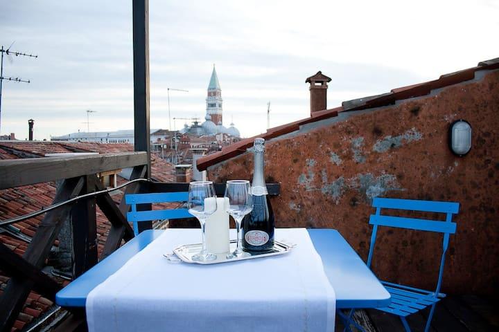 Spectacular view on San Marco  - Venecia - Departamento