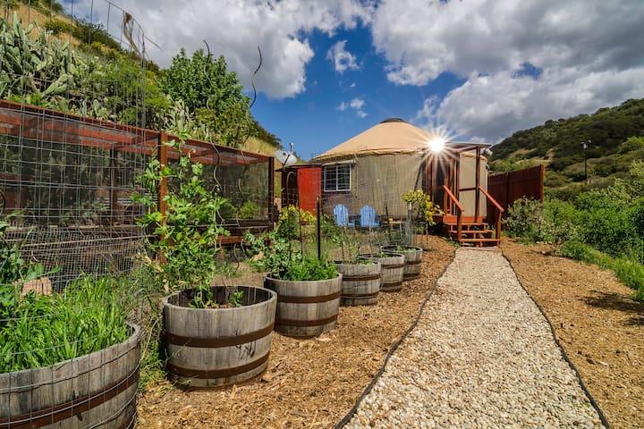Malibu Yurt Retreat On Organic Farm - 馬里布