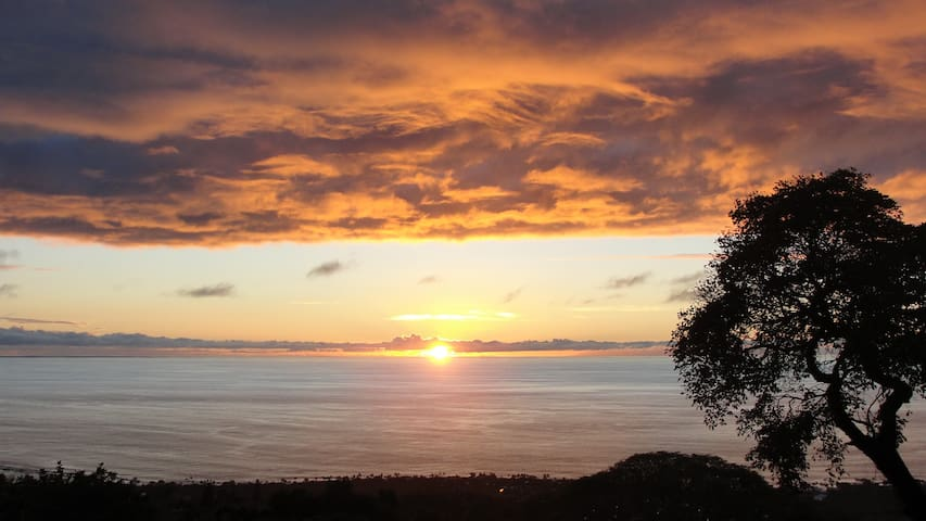 Secluded hideaway with amazing view - Hōlualoa