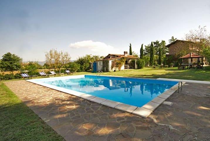 Tuscany - Villa with pool - Osteria