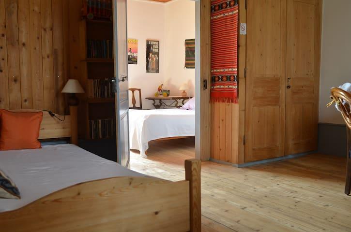 Une chambre dans maison paysanne - Vaux-et-Chantegrue - Bed & Breakfast