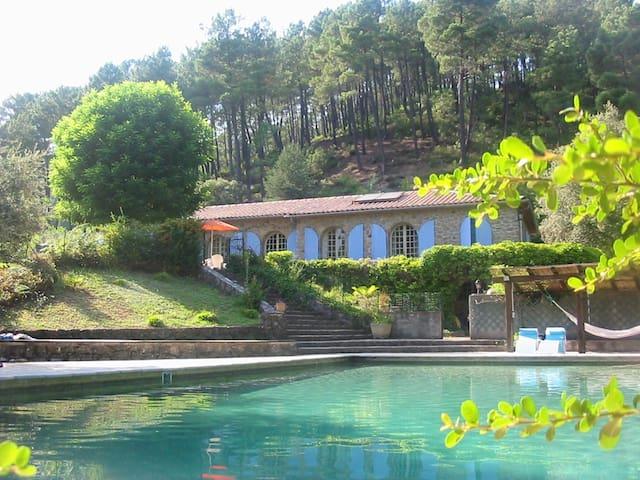 Villa big swimmingpool - nice view - Saint Jean Du Gard - Villa