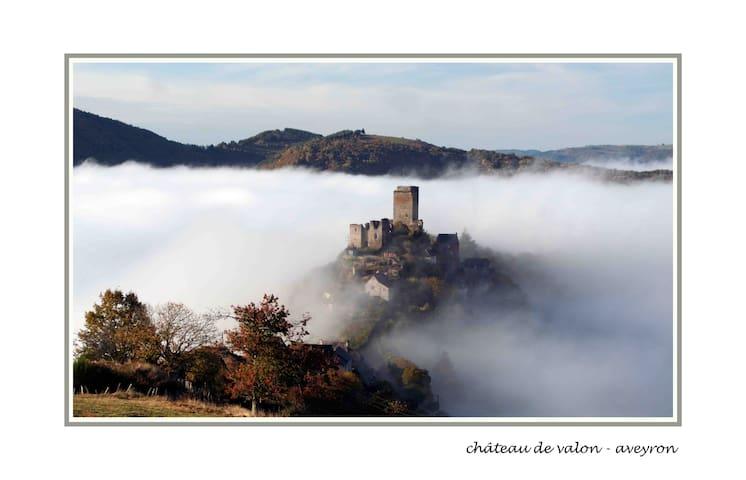 Gite Saba 4 people, Aveyron, France - Lacroix-Barrez - Huis