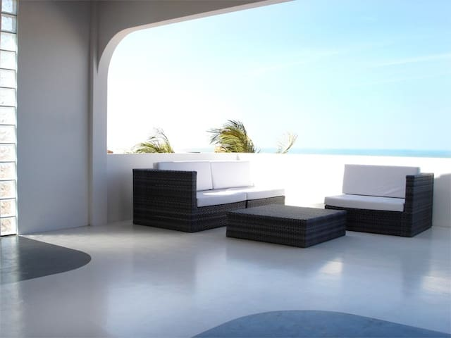 Modern Beach Villa, Canoa Quebrada - Aracati - Huis