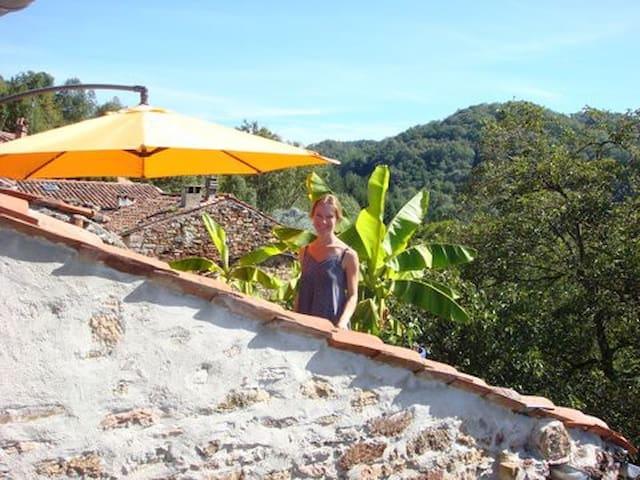 Rural Getaway with Magical View - Castelnau-Durban - Rumah