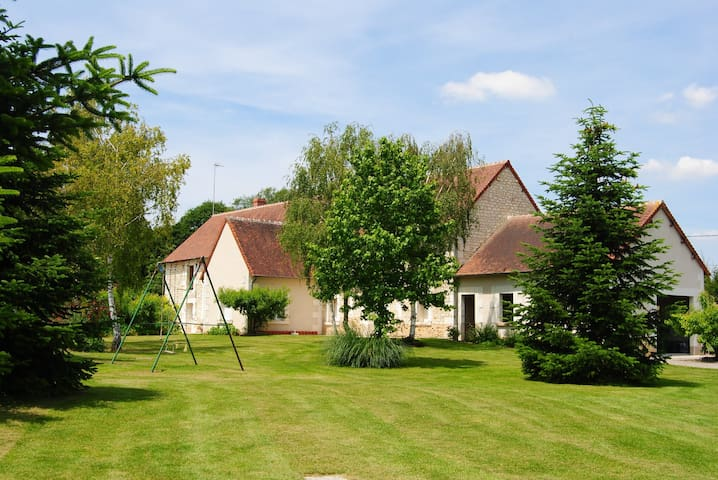 My Country House - Loire Valley - Villentrois - Huis