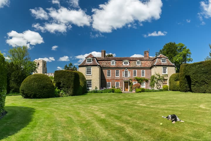 Manor House 2 Double rms White room - Harston - Bed & Breakfast