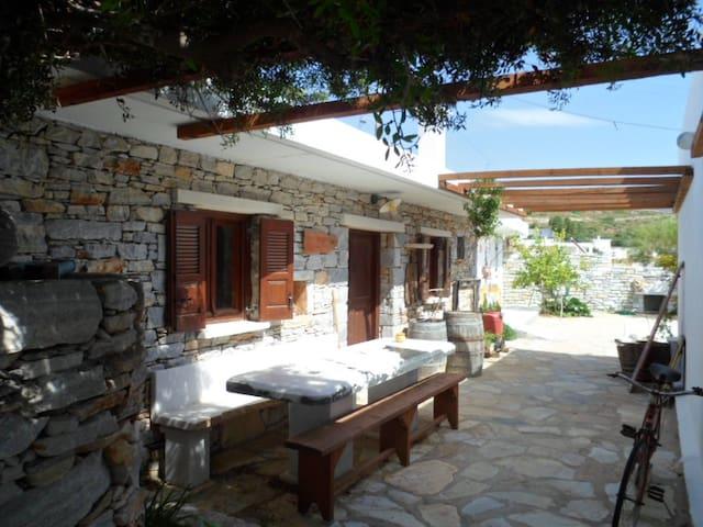 """Mitato"" traditional house in Naxos - Naxos - Hus"