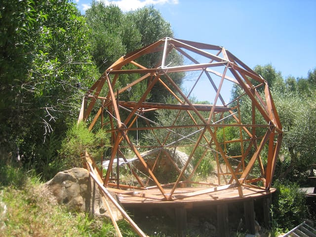 #06 GEODESIC DOME AND COSY SPACE IN NATURE - FACINAS