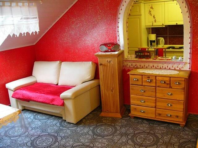 "Apartment   "" Holunder mit Balkon "" - Dinkelsbühl - Appartement"