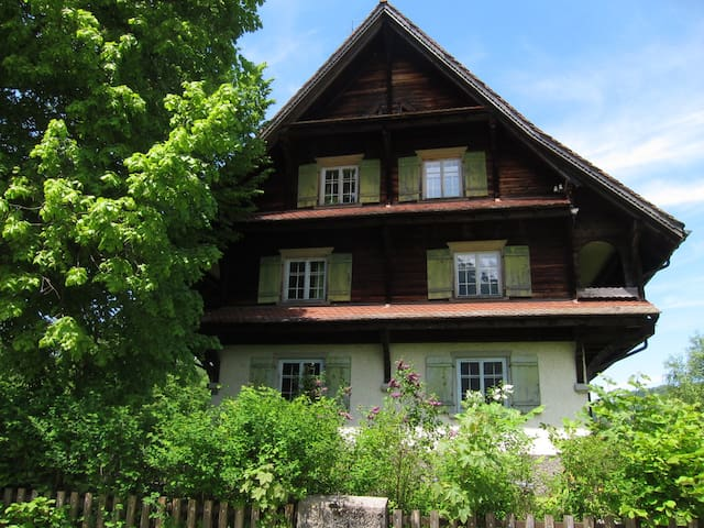 Big, Old and Charming House - Vorderthal