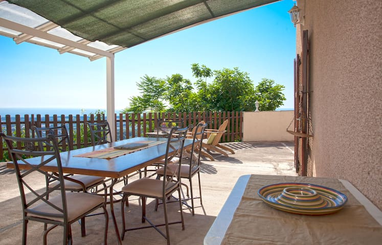 house 250m2 with sea view terrace.  - Sorbo-Ocagnano - Huis
