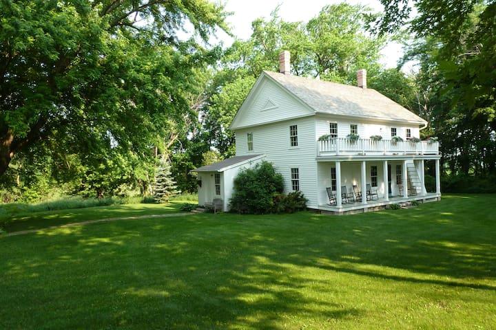 Thorstein Veblen Farm National Historic Landmark - Nerstrand - Casa