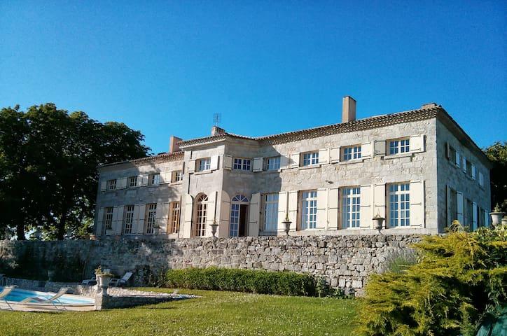 Charming Mansion from 17th, Pool - Lauzun