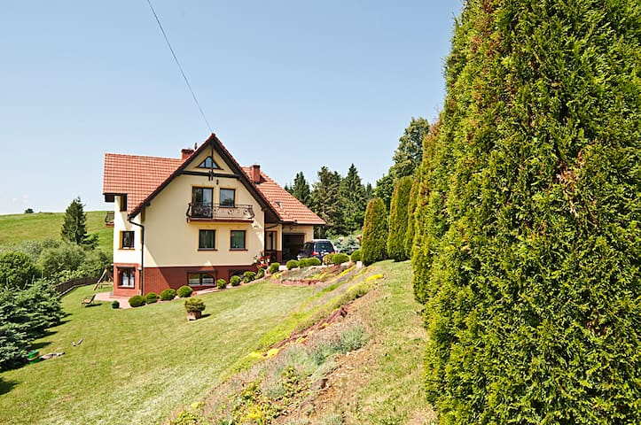 Guest rooms panoramic view Tatra - Ciche - Pis
