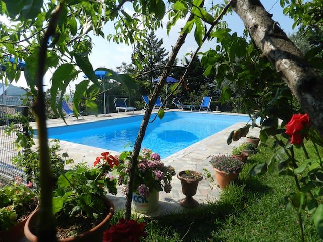 Bed&Breakfast swimming La Mortella - Albanella - Oda + Kahvaltı