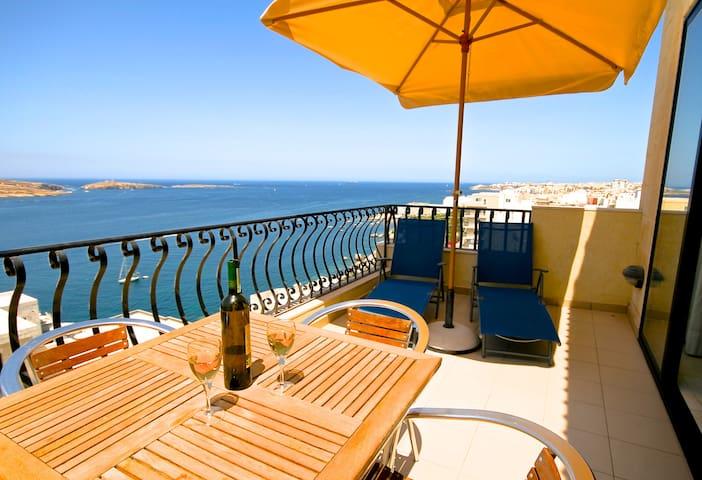 Penthouse in St Paul's Bay Malta - St Paul's Bay - Apartemen