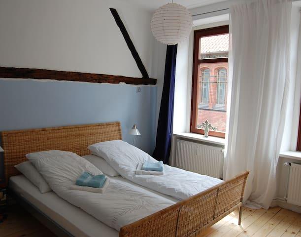 lovely room in historical house - Lüneburg - Bed & Breakfast