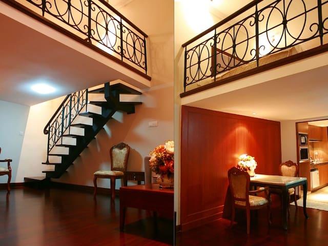 Duplex Apartment Hotel 4 CantonFair - Guangzhou - Leilighet