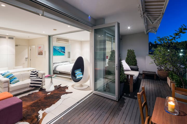 Chic sun filled Bondi Penthouse - Bondi Beach - Departamento